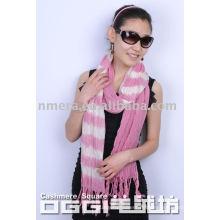 Damen-Farbton Farbe Wolle Schal