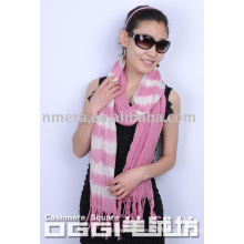 Écharpe en laine de couleur dégradée des dames