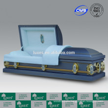 LUXES American Popular Metal Caskets Funeral Steel Caskets For Sale