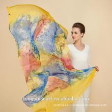 2015 шелковый модный шарф TONGSHI -195 SD403