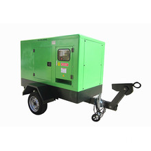 Trailer Type Electric Generator Set