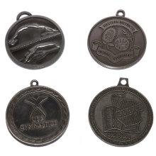 Kundenspezifische Multi-Design Zink Alloy Event Medaillen - Lanyard verfügbar / Antique Pewter Plated