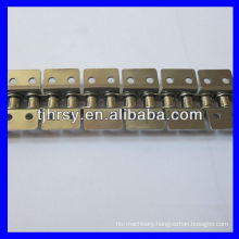 Short Pitch Stainless Steel conveyor roller chain attachments K2(Both sides)