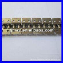 Short Pitch Aço inoxidável transportador rolo cadeia acessórios K2 (ambos os lados)