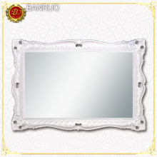 Banruo White European Style Interior Home Mirror Frame