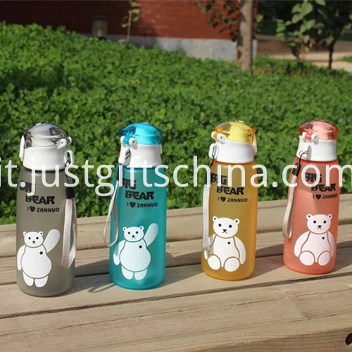Promotional Food Grade Printed Cartoon Kids Cup with String3
