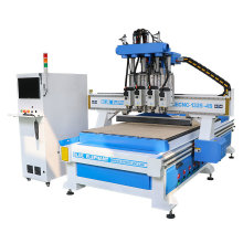 Jinan New Stype Elecnc 1325 Wood CNC Router with 4 Spindles