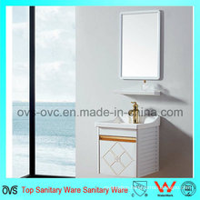 Sanitary Product Aluminum Bathroom PVC Cabinet Bathroom Vanity