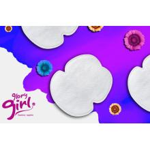 Disposable underarm sweat protection pads for women