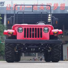 Jinyi Fabrik Niedrigster Preis Öl gekühlte 4-Takt CVT mit Reverse 200cc Gy6 Motor Gas Adult Pedal Go Kart (JYATV-020)