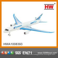 Мини-пластик сплошной цвет тянуть обратно пассажирские самолеты игрушки