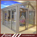 Prefeb house prefabricated home italian house glass room from alibaba china supplier