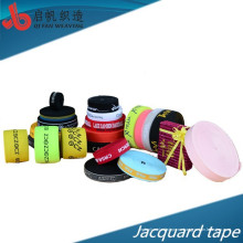 La fábrica modifica el material elástico del jacquard de alta calidad respetuoso del medio ambiente de la característica de la alta tenacidad