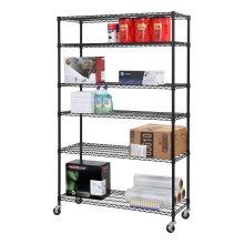 Unidad de bastidor de garaje de alambre metálico de servicio pesado ajustable, aprobación NSF