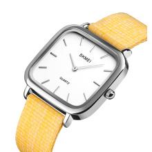 SKMEI 1555 Stainless Steel Gold Original Watch Strap Lady Women Case Japan Fashion Wrist Watch