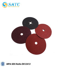 SATC Norton A/O aluminum oxide fiber disc with slotted hole with high quality and good price