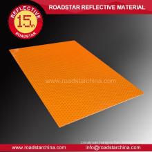 Printable acrylic reflective sheeting material