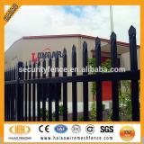 25mm*25mm picket Spear top black steel fence
