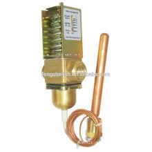 Válvula automática de fluxo de água com controle de temperatura