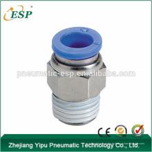 мужской прямые фитинги воздуха, ПЦ6-02, латунь материал