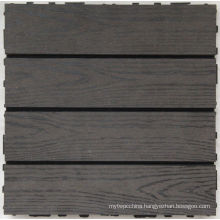 Hl Eco-Friendly Wood Plastic Composite (WPC) Decking Tile Measures 300*300mm