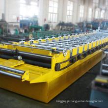 2017 mais novo material de construção da telha de telhado máquina mestre de armação de aço