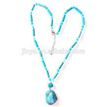 Богемный Ожерелье Бирюзовый Кулон