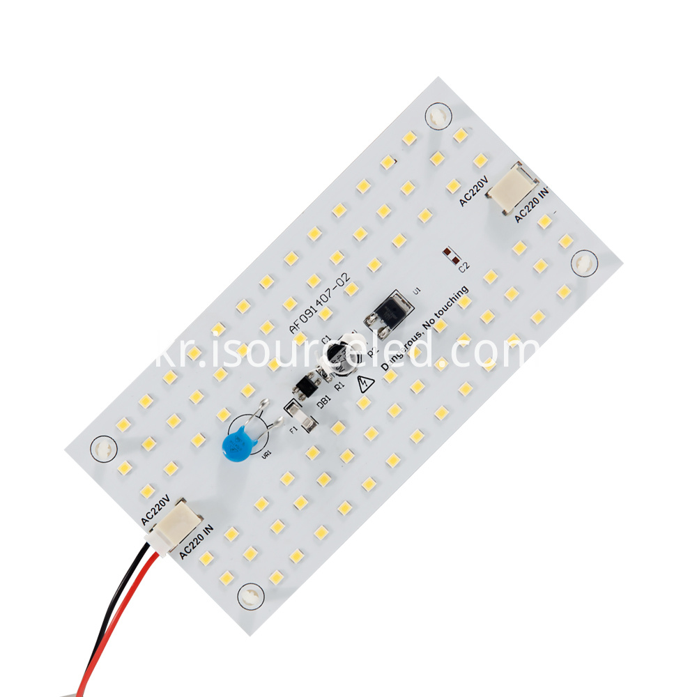 Side picture of square custom AC SMD 28359W ceiling module