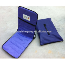 Most popular folding beach seat cushion with pocket for gift