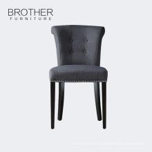 Античный Стиль ткань кольцо домашней мебели Обедая стул