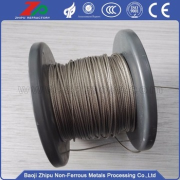 Dia2.5 Tungsten lifting rope for vacuum furnace