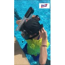 2021 Nova Máscara Facial Full Dry Safety Snorkeling