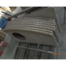 Polished Granite Countertop/Vanity Top for Bathroom, Kitchen