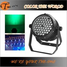 屋外IP65 54X3w LED RGBWステージイベント照明