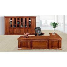 Klassische Massivholz Büro Executive Chef Tischmöbel (HF-YM8A06)