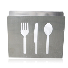 Stainless Steel Paper Holder /Display/Shelf