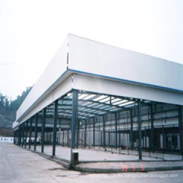 Almacén de acero ISO certificado industria construcción