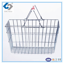 Металлические проволочные корзины для покупок