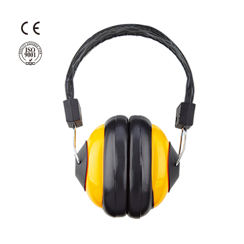 Soundproof safety ear muffs hearing protection