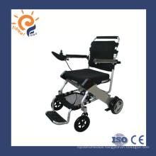Aluminum lightweight manual wheel chair with detachable footrest flip up armrest