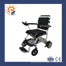 Cadeiras de rodas eléctricas cadeira de rodas de alumínio com bateria
