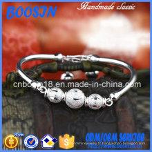 Bijoux de bracelet en argent sterling en gros bon marché
