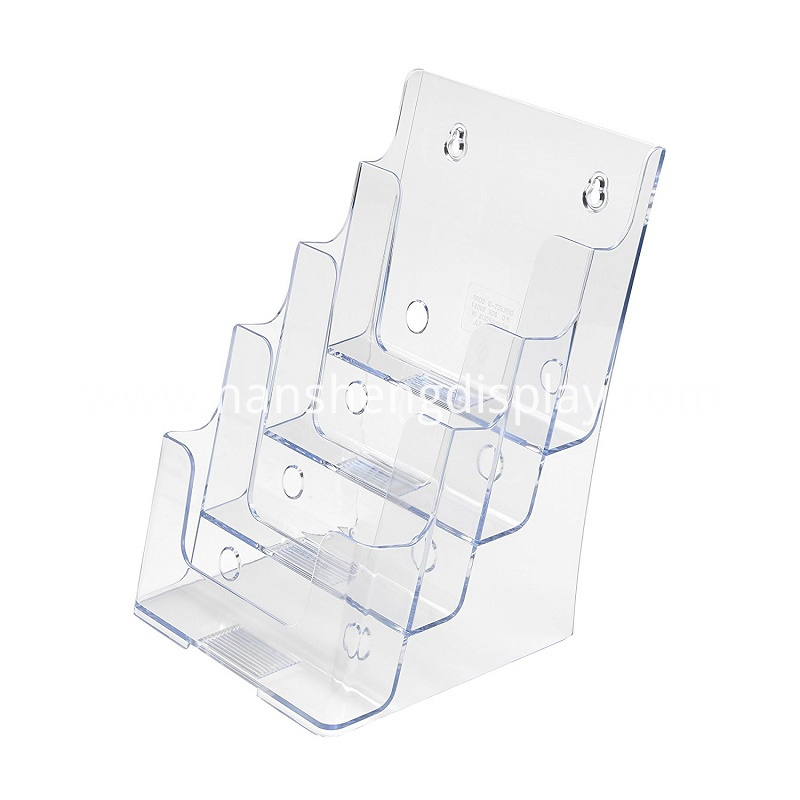 Acrylic Magazine Display Racks