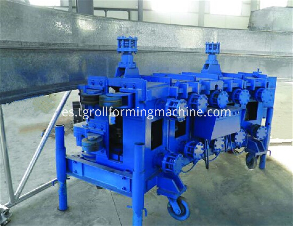 Spiral Grain Silo Forming Machine