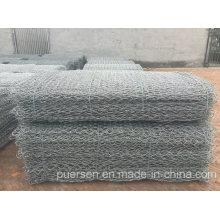 Galvanizado Hexagonal Wire Netting para Stone Cage por Puersen