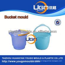 Molde de cubo de agua con tapa / molde de cubo de agua con mango / inyección Moldes de cubo de plástico
