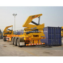 Side Lifter Crane e Container Skeleton Trailer