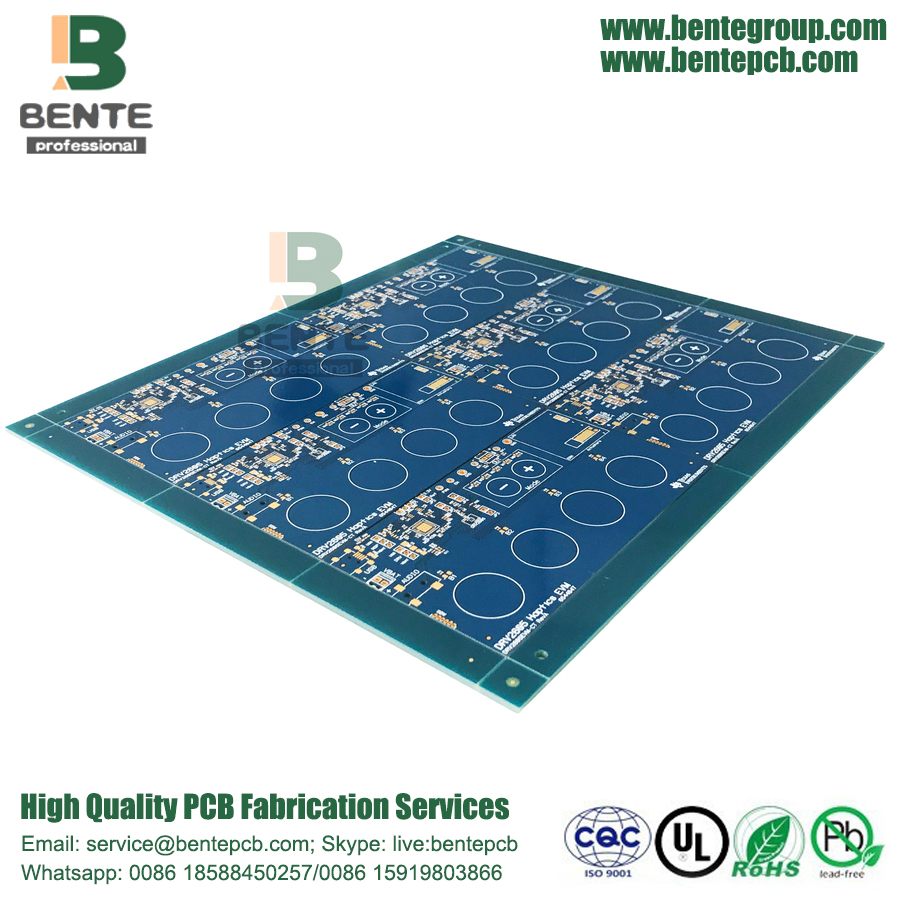 IT180 Multilayer PCB 4 Layers PCB ENIG 3u""