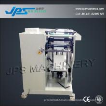 Jps-320zd máquina automática de corte y carpeta de perforación de rollo de etiquetas