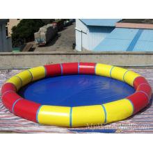 Tissu stratifié en PVC pour piscine circulaire